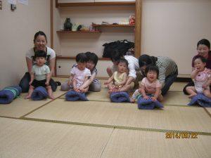 2016年5月よちよち歩きから3歳までの「親子体操」