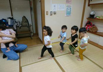 0歳からの親子体操もスタートしまーす